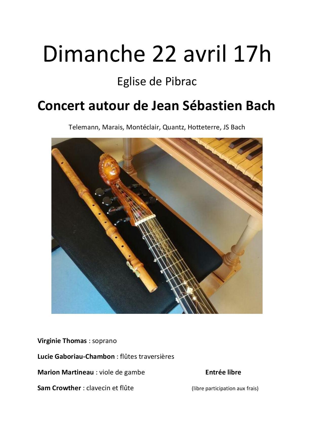 Concert 22 avril 2018