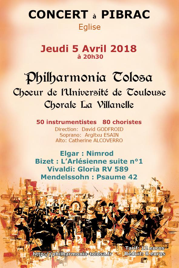 concert 5 avril