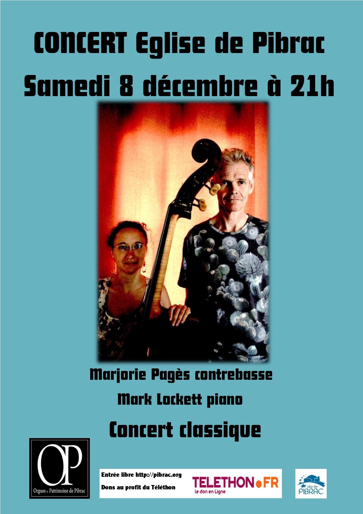 Concert samedi 8 décembre